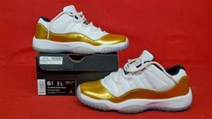 quite nice better really cheap Nike Air Jordan 11 XI Low Gold Medal Closing Ceremony 528896-103 Size:6.5Y